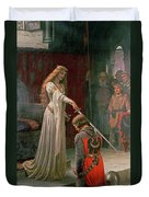 The Accolade Duvet Cover by Edmund Blair Leighton