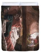 The Adoration of the Wise Men Duvet Cover by Tissot