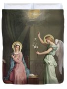 The Annunciation Duvet Cover by Auguste Pichon