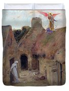 The Annunciation Duvet Cover by Luc Oliver Merson
