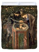 The Baleful Head Duvet Cover by Sir Edward Burne-Jones