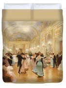 The Ball Duvet Cover by Victor Gabriel Gilbert