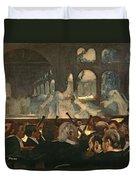 The Ballet Scene From Meyerbeer's Opera Robert Le Diable Duvet Cover by Edgar Degas
