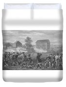 The Battle Of Lexington Duvet Cover by War Is Hell Store