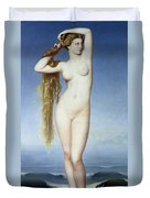 The Birth Of Venus Duvet Cover by Eugene Emmanuel Amaury Duval