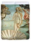 The Birth of Venus Duvet Cover by Sandro Botticelli
