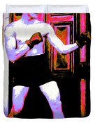 The Boxer - 20130207 Duvet Cover by Wingsdomain Art and Photography