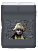 The Buccaneer Duvet Cover by David Lee Thompson