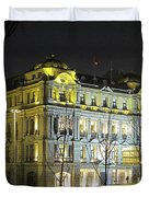 The Bund - Shanghai's signature strip of historic riverfront architecture Duvet Cover by Christine Till