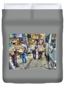 The Carriers  Duvet Cover by Michael Garyet
