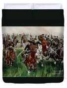 The Cavalry Duvet Cover by WT Trego