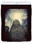 The Chapel Tower Duvet Cover by Meirion Matthias