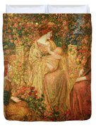 The Child Duvet Cover by Thomas Edwin Mostyn