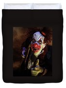 The Clown Duvet Cover by Mary Hood