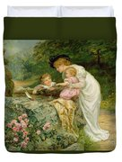 The Coming Nelson Duvet Cover by Frederick Morgan