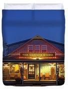The Corner Store  Duvet Cover by John Greim