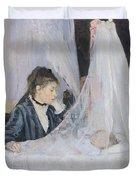 The Cradle Duvet Cover by Berthe Morisot