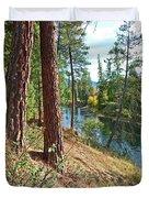 The Creek Duvet Cover by Nancy Harrison
