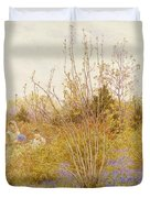 The Cuckoo Duvet Cover by Helen Allingham