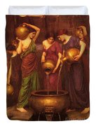 The Danaides Duvet Cover by Pg Reproductions