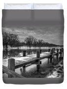 The Dock Duvet Cover by Everet Regal