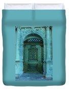 The Door To The Secret Duvet Cover by Susanne Van Hulst