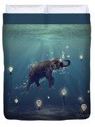 The dreamer Duvet Cover by Martine Roch