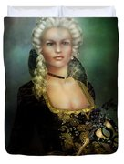 The Duchess Duvet Cover by Mary Hood