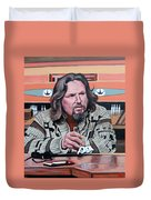 The Dude Duvet Cover by Tom Roderick