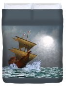 The Eagle Duvet Cover by Corey Ford