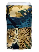 The Edge Of Paradise Duvet Cover by Nathan Miller