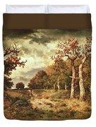 The Edge Of The Forest Duvet Cover by Narcisse Virgile Diaz de la Pena