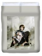 The End Is Nigh Duvet Cover by Mary Hood