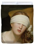 The Execution of Lady Jane Grey Duvet Cover by Hippolyte Delaroche