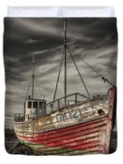 The Ghost Ship Duvet Cover by Evelina Kremsdorf