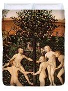 The Golden Age Duvet Cover by Lucas Cranach