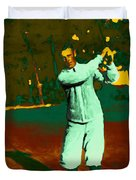 The Golfer - 20130208 Duvet Cover by Wingsdomain Art and Photography