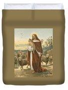 The Good Shepherd Duvet Cover by John Lawson