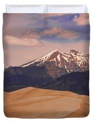 The Great Sand Dunes and Sangre de Cristo Mountains Duvet Cover by James BO  Insogna