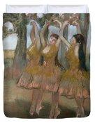 The Greek Dance Duvet Cover by Edgar Degas