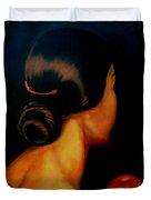 The Hair   Duvet Cover by Manuel Sanchez