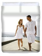 The Happy Couple Duvet Cover by Kicka Witte - Printscapes