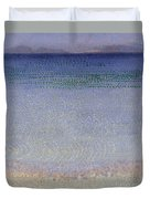 The Iles Dor Duvet Cover by Henri Edmond Cross