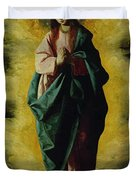 The Immaculate Conception Duvet Cover by Francisco de Zurbaran