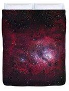 The Lagoon Nebula Duvet Cover by Robert Gendler