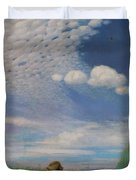 The Lark Duvet Cover by Pal Szinyei Merse