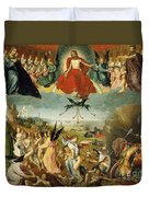 The Last Judgement Duvet Cover by Jan II Provost