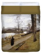 The Last Turning Duvet Cover by James Paterson
