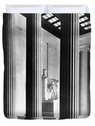 The Lincoln Memorial Duvet Cover by War Is Hell Store
