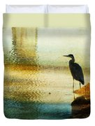 The Lonely Hunter II Duvet Cover by Amy Tyler
